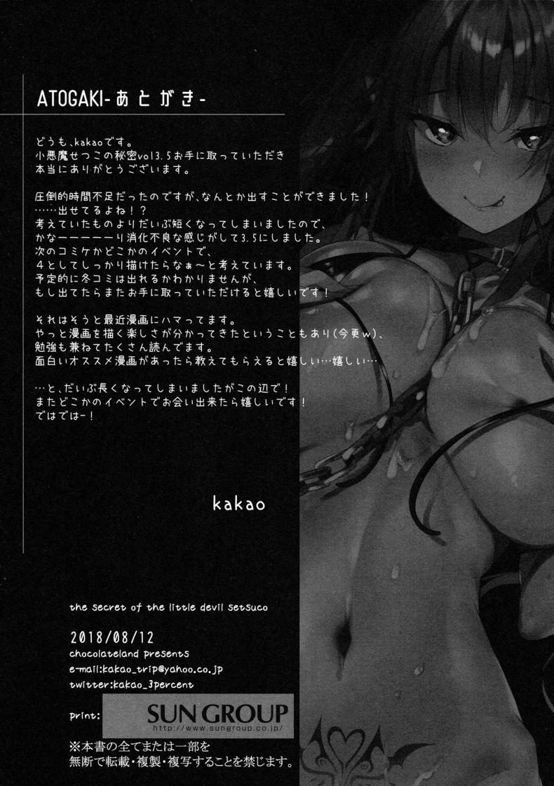 Koakuma Setsuko no Himitsu 3.5-13